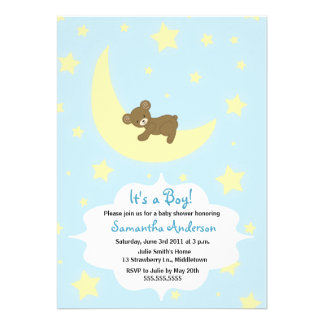 El oso de peluche y la fiesta de bienvenida al beb