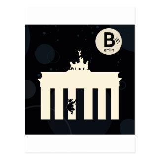 El oso en Berlín - Brandenburger portería Postales