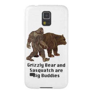 El oso grizzly y Sasquatch son regalos grandes de Funda Para Galaxy S5