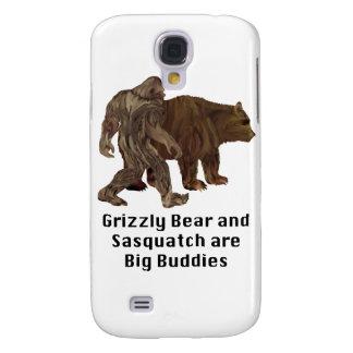 El oso grizzly y Sasquatch son regalos grandes de  Funda Samsung S4