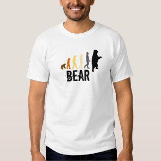 El oso/la subida del oso del hombre colorea la playeras