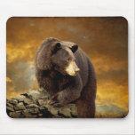 El oso pasó la montaña - Mousepad Tapete De Raton
