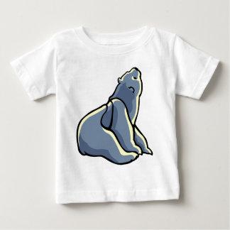 El oso polar Cub de la camisa del bebé del oso