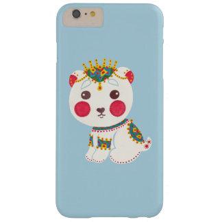 El oso polar étnico funda barely there iPhone 6 plus