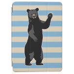 El oso que agita dice hola, rayado cover de iPad air