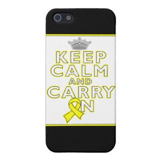 El osteosarcoma guarda calma y continúa iPhone 5 protectores