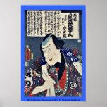 El Otododate Harugoma Yoshiro por Utagawa, Toyokun Impresiones