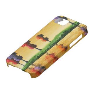 El otoño ata la caja de la casamata del iPhone 5 iPhone 5 Carcasas