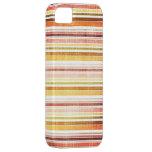 El otoño caliente del vintage raya el modelo iPhone 5 Case-Mate fundas