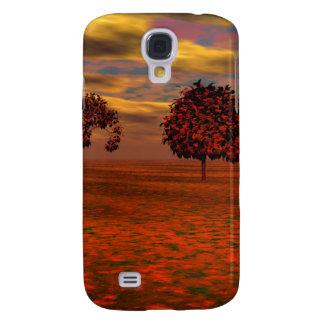 El otoño colorea los regalos del arte de los árbol