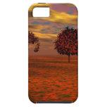 El otoño colorea los regalos del arte de los árbol iPhone 5 Case-Mate fundas