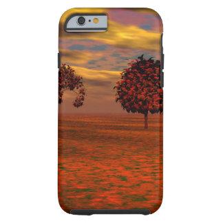 El otoño colorea los regalos del arte de los funda de iPhone 6 tough