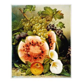 El otoño da fruto los melocotones de las uvas de l arte fotografico