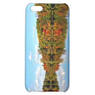 El otoño del paisaje de la caída colorea 4 Shell