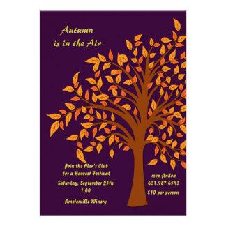 El otoño está en la invitación del aire