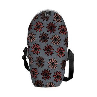 El otoño florece el bolso bolsa de mensajería
