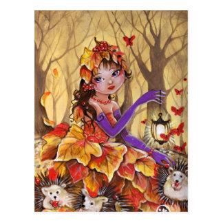 El otoño ha venido - postal