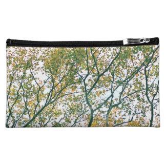El otoño ramifica bolso (azul y verde) abstracto
