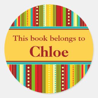El otoño raya la etiqueta del libro