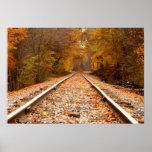 El otoño sigue el poster