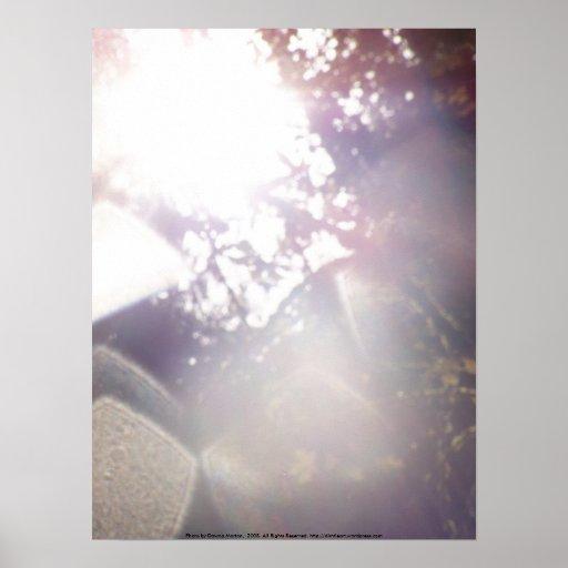 El otoño Sun irradia #21 - modificado para requisi Póster