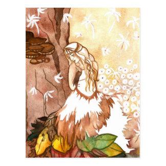 El otoño susurra la postal