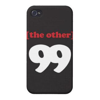 """""""[el otro] 99 """""""" iPhone 4 carcasa"""