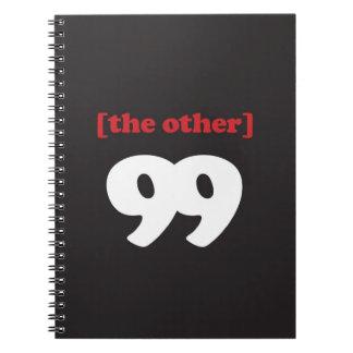 """""""[el otro] 99"""" libros de apuntes"""