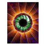 El otro de Tesla arte del fractal del ojo Postal