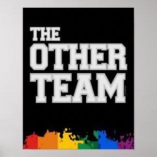 El otro equipo (gris) poster