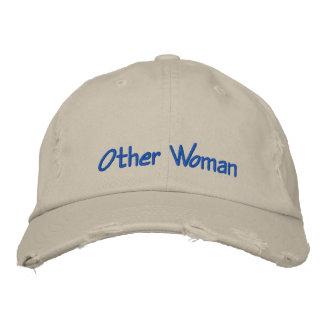 El otro humor bordado mujer de la gorra de béisbol