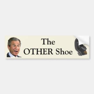 El OTRO zapato Pegatina Para Auto