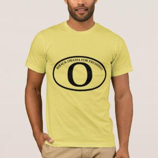 El óvalo reelige la camiseta de Barack Obama