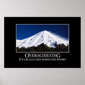 El Overachieving no está generalmente digno del es Impresiones