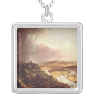 El Oxbow 1836 Collar Plateado