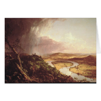 El Oxbow 1836 Tarjeta De Felicitación