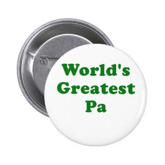 El PA más grande de los mundos Pin Redondo De 2 Pulgadas