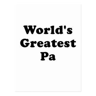 El PA más grande de los mundos Tarjeta Postal