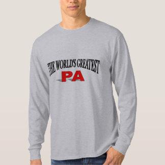 El PA más grande del mundo Playera