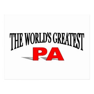 El PA más grande del mundo Tarjetas Postales