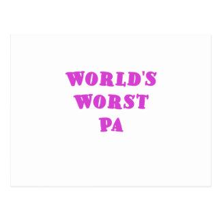 El PA peor de los mundos Postales