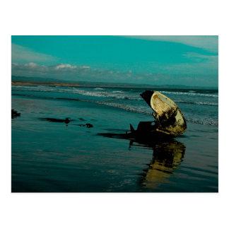 El Pabellon Beach Postcard