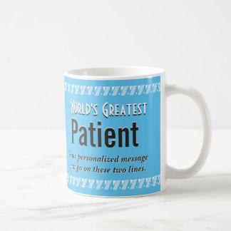 El paciente más grande del mundo taza clásica
