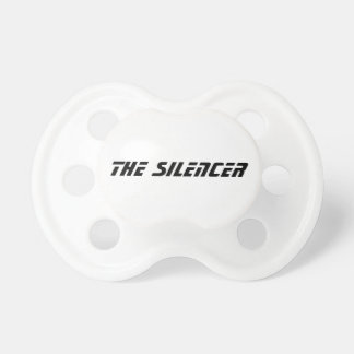 El pacificador del silenciador chupetes de bebe