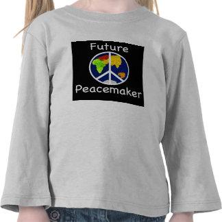 El pacificador futuro embroma la camiseta larga de