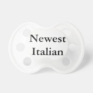 """El pacificador """"italiano"""" más nuevo chupetes para bebes"""