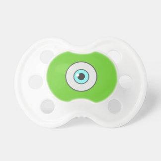 El pacificador mínimo del ojo para los niños chupetes de bebe