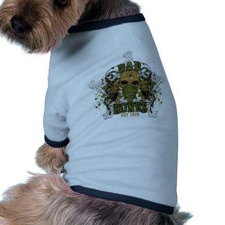 el pacificador se cae dormido en la estrella de camiseta con mangas para perro