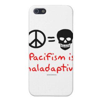 El pacifismo es maladaptive iPhone 5 funda