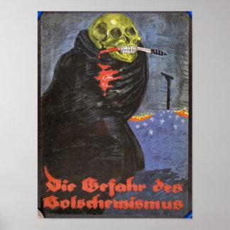 El padre de la impresión del Bolshevism Póster